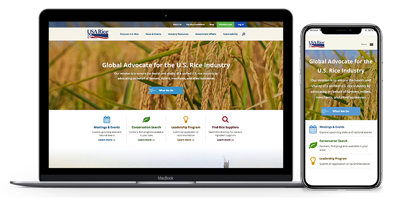 USA Rice Website | RD Web | Results Direct
