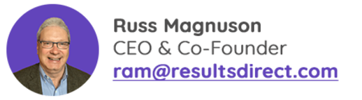 Russ Magnuson | RD Web | Results Direct
