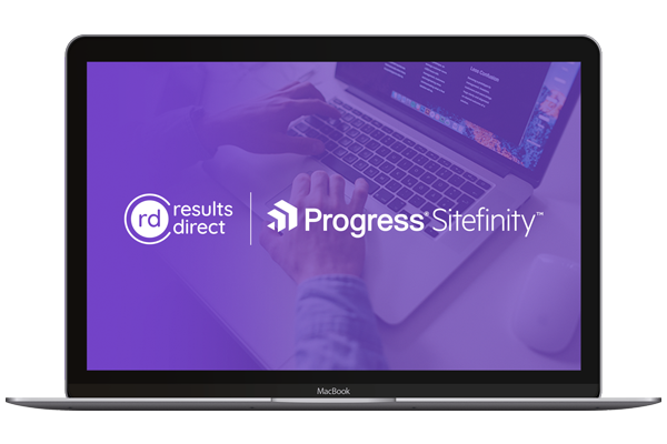 Results Direct and Sitefinity CMS Demo