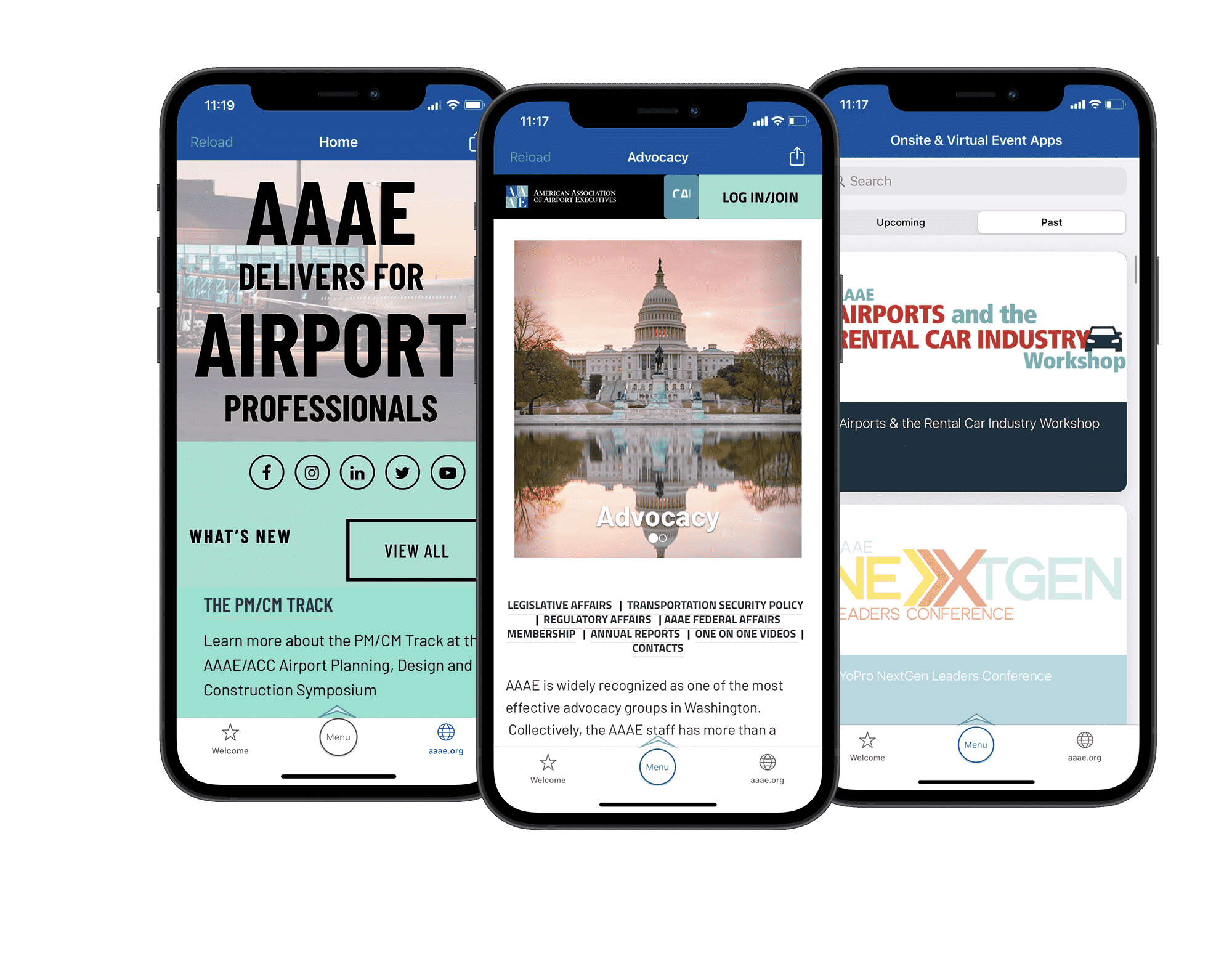 AAAE Engagefully app by RD Mobile