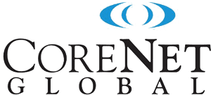 The logo for CoreNet Global.